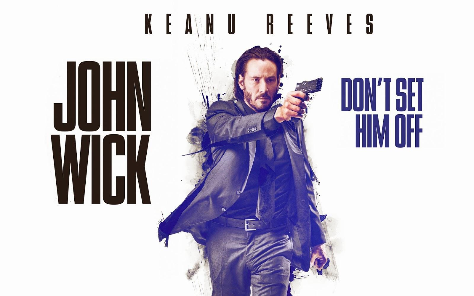 【ジョン・ウィック】 キアヌ復活!マトリックスを超えれるか?
