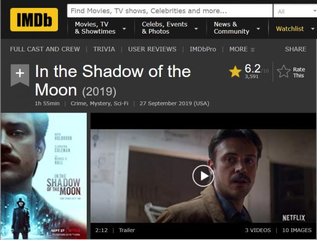 「月影の下で」ジム・マイクル監督の才能を感じるNetflix映画!