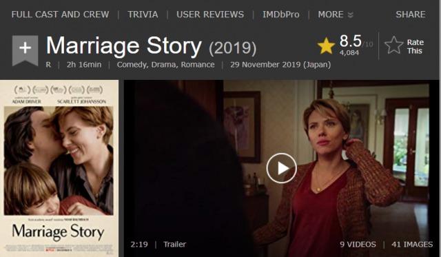 """「マリッジ・ストーリー」Netflixで話題の""""離婚物語""""がいよいよ配信開始!"""